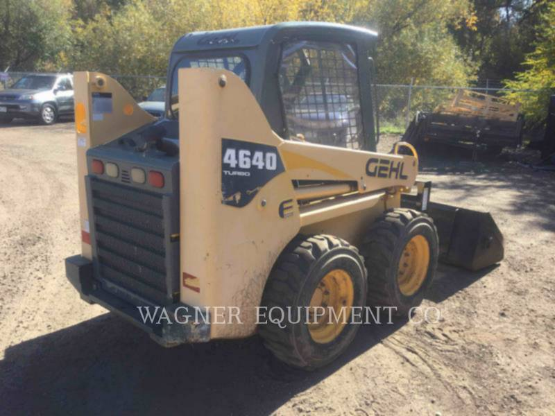 GEHL COMPANY MINICARGADORAS 4640E equipment  photo 4