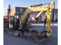 Equipment photo YANMAR VIO80 TRACK EXCAVATORS 1