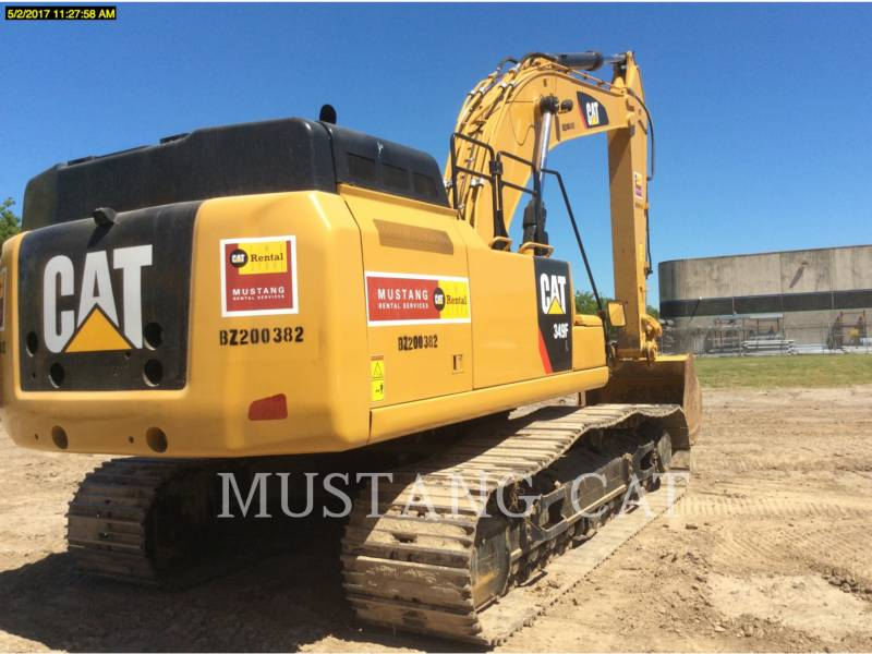 CATERPILLAR KETTEN-HYDRAULIKBAGGER 349FL equipment  photo 9