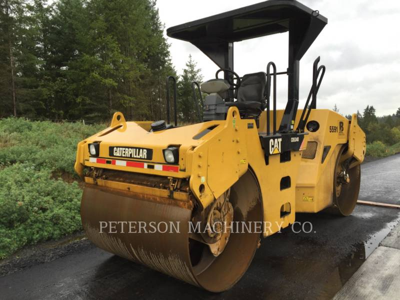 CATERPILLAR ASPHALT PAVERS CB-534D equipment  photo 1