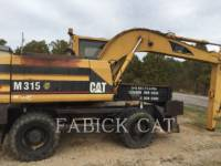 Equipment photo CATERPILLAR M315 ESCAVATORI GOMMATI 1