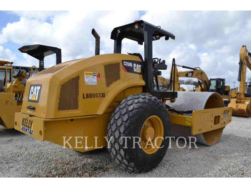 CATERPILLAR COMPACTADORES DE SUELOS CS56B equipment  photo 3