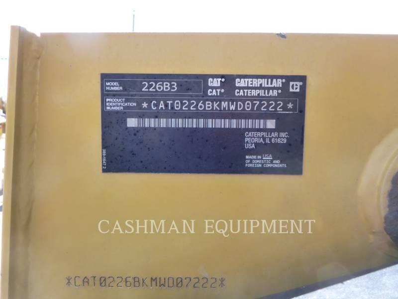 CATERPILLAR MINICARGADORAS 226B3 C equipment  photo 10
