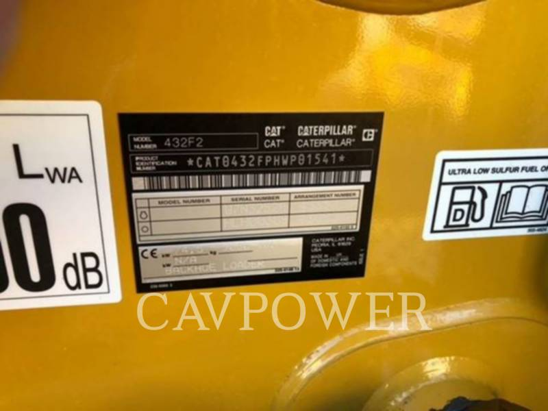 CATERPILLAR BACKHOE LOADERS 432F2 equipment  photo 3
