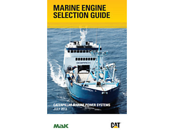 2013 Caterpillar Marine Engine Selection Guide