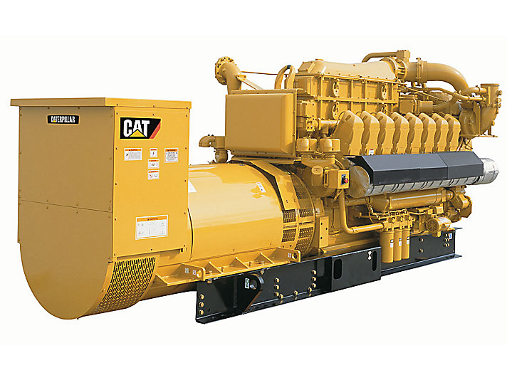 Cat gas generators natural gas generators caterpillar for Generator sizing for motors