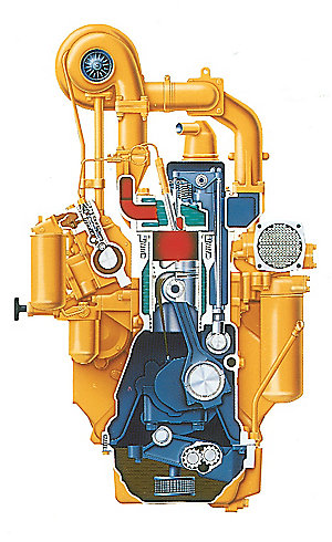 Cat 3306TA Engine