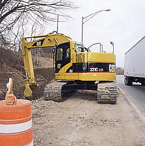 321C LCR Hydraulic Excavator