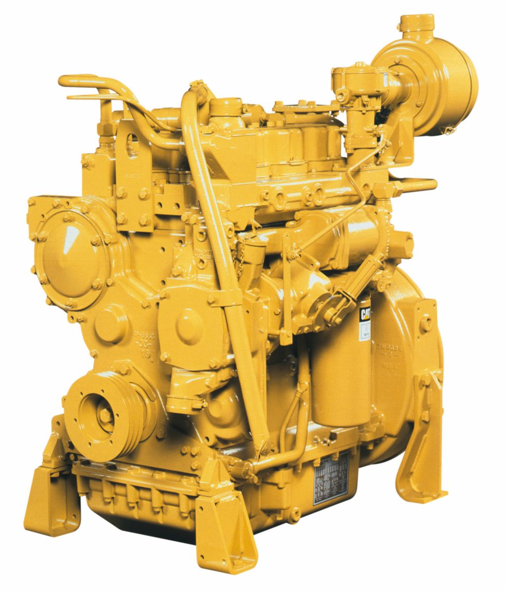 Cat<sup>®</sup> G3304 Industrial Gas Engine