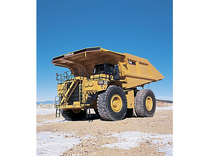 793D - Tombereaux pour applications minières COSA