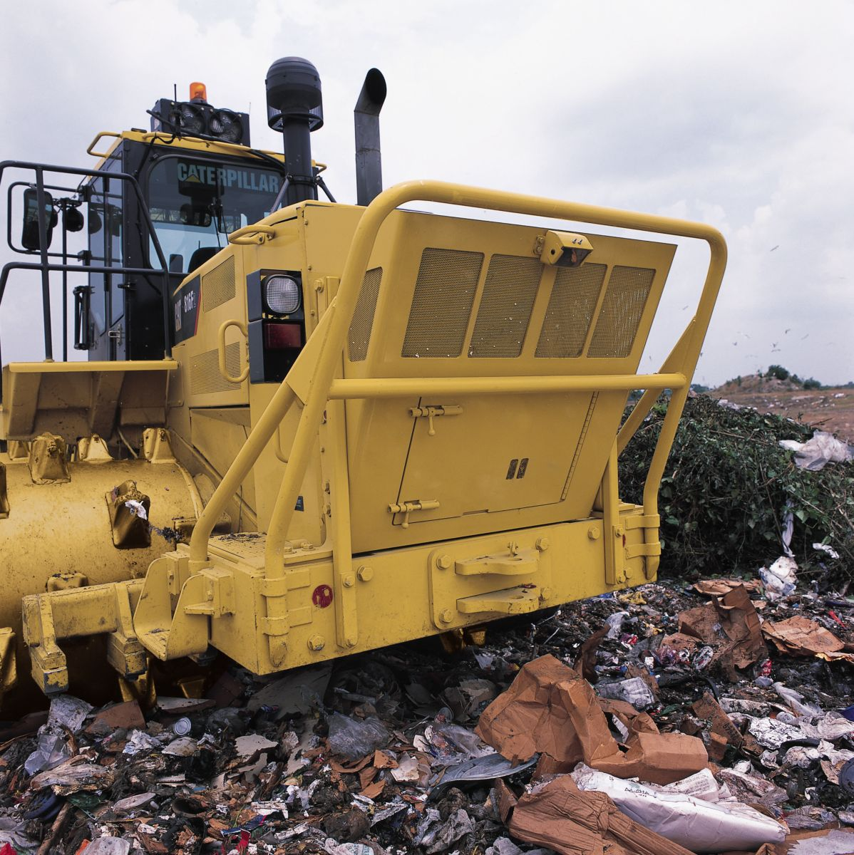 Landfill Compactors Garbage Pictures : New f series landfill compactor for sale whayne cat