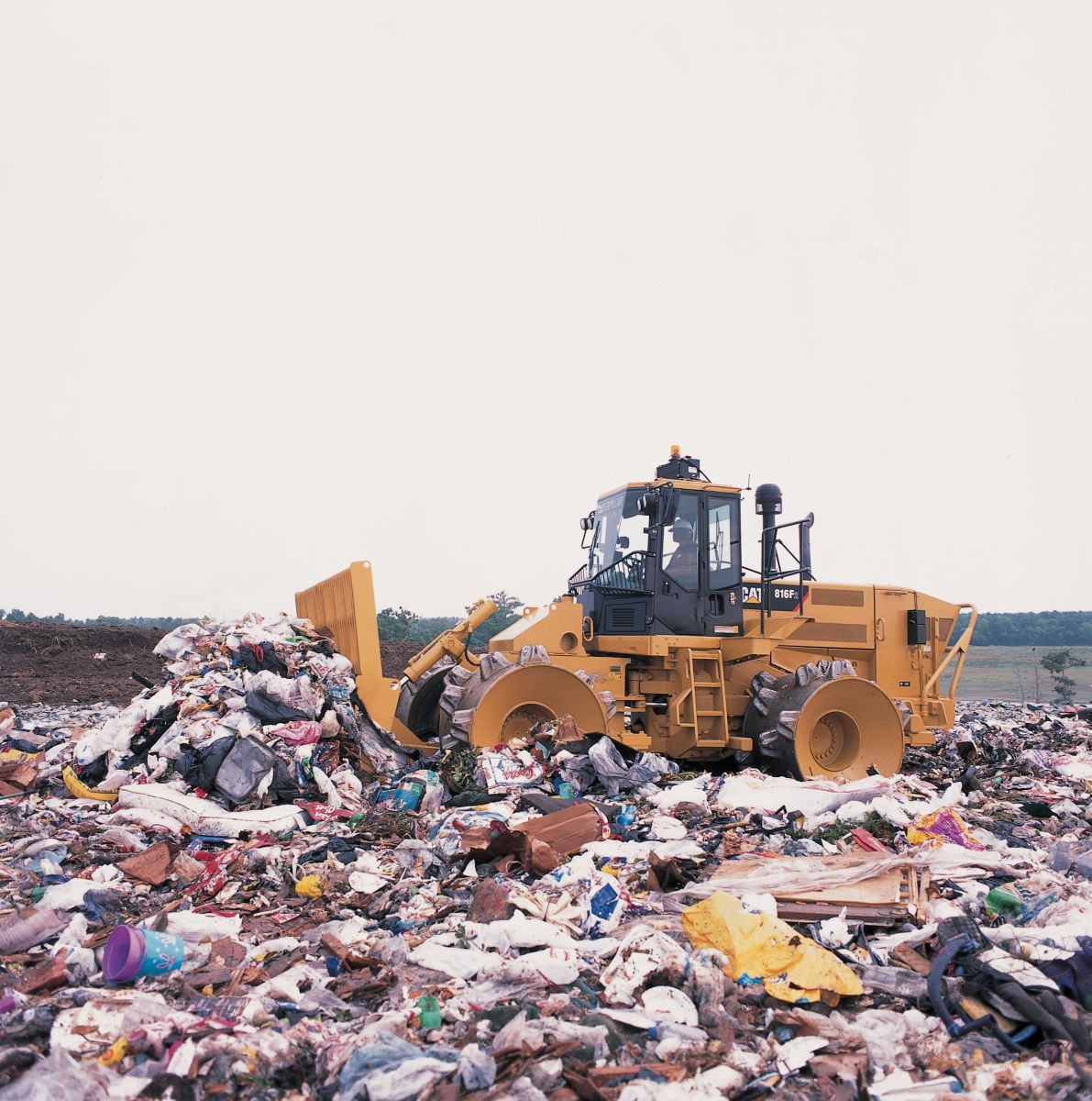 816f Series 2 Landfill Compactor