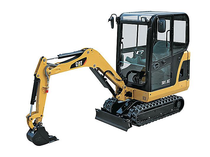 301.8C Mini Hydraulic Excavator