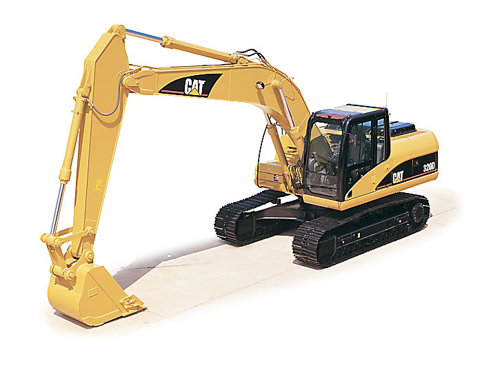 320D RR/320D L RR Medium Excavator