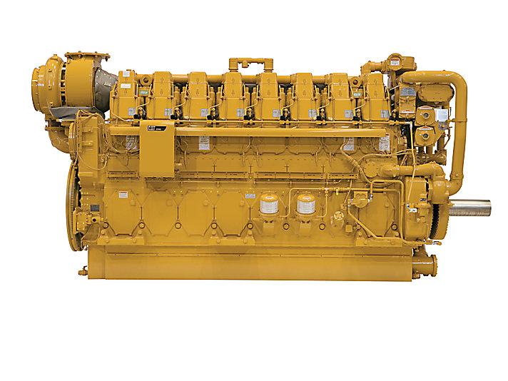 Moteurs de propulsion pour marine marchande C280-8