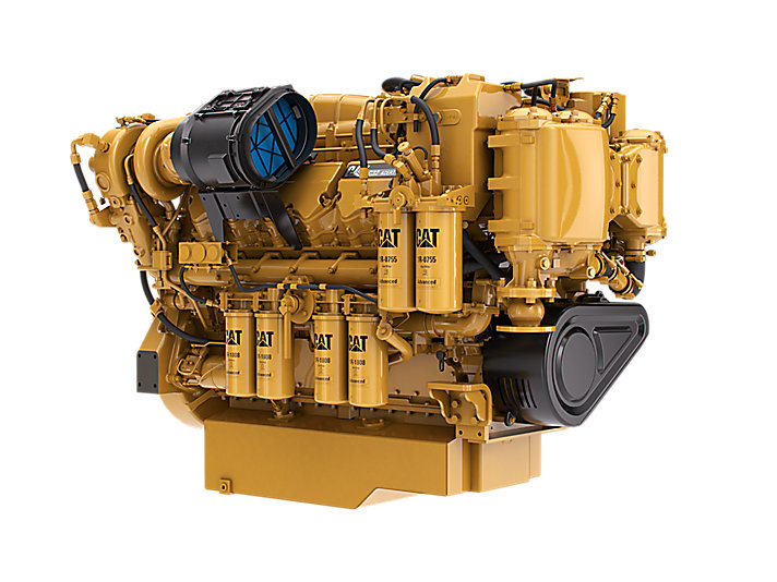 cat cat c32 acert marine propulsion engine  epa tier 3  caterpillar Power Steering Leak Causes Power Steering Parts Diagram
