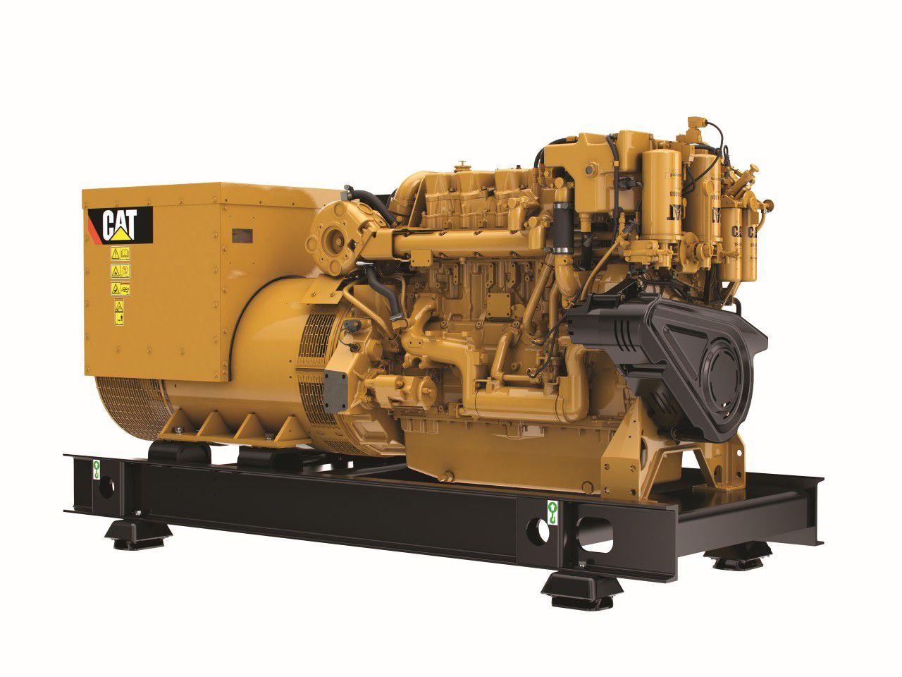 Cat C18 ACERT Marine Generator Set (Tier 3)