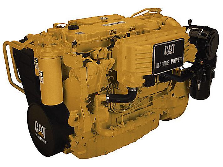 Motores Auxiliares del Grupo Electrógeno C9