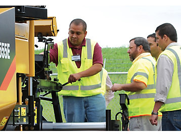 A hands-on training session