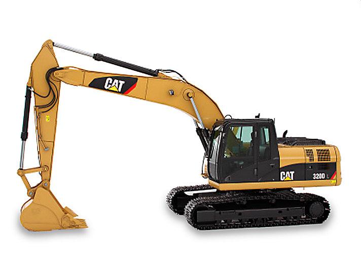Excavadora Mediana 320D/ 320D L