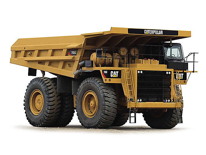Caminhões de Mineração 785C