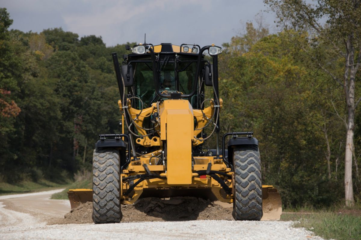 Cat Grade Control for Motor Graders