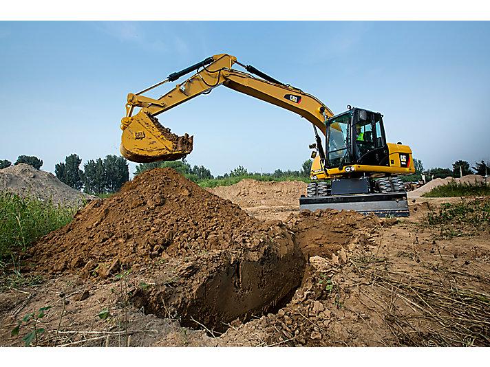 Escavadeira de Rodas M315D2