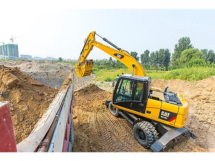 M315D2 Wheel Excavator
