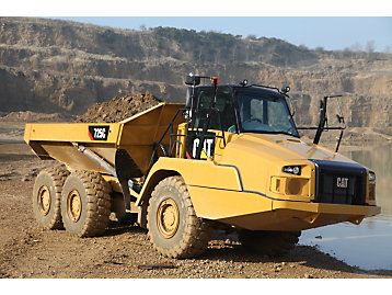 Cat® C Series Articulated Trucks