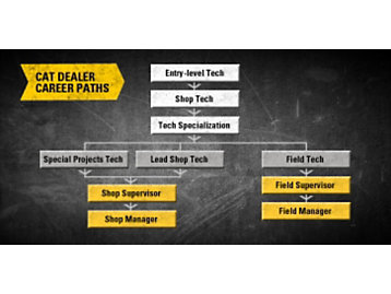 Cat Dealer Career Paths