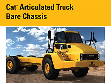 Product Downloads OEM Cat Articulated trucks