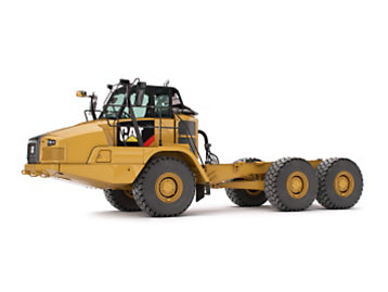 Cat® Articulated Trucks C Series Bare Chasis Models