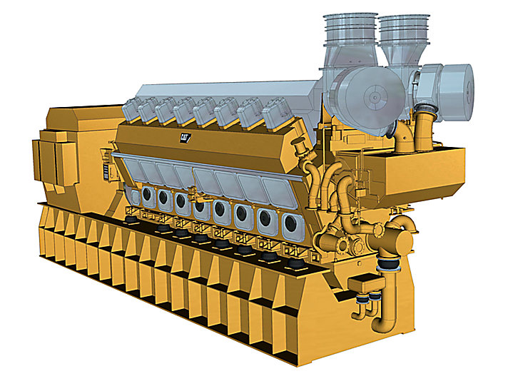 Grupo Electrógeno de Alta Mar 16CM43C