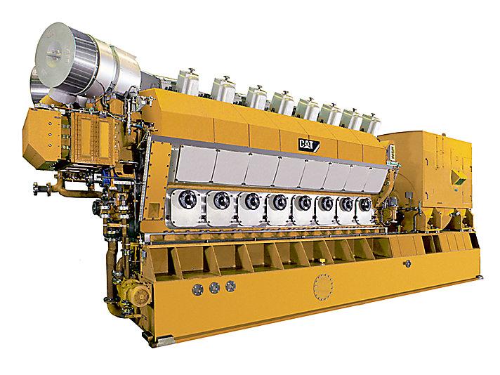 Grupo Electrógeno de Alta Mar 16CM32C