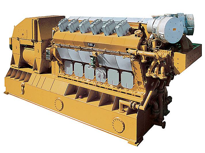 Grupo Electrógeno de Alta Mar 12CM32C