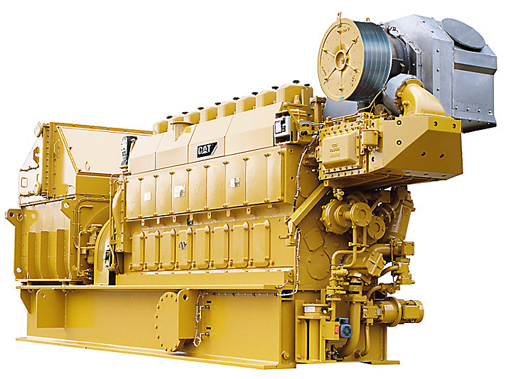 Offshore-Stromaggregat 8CM20C
