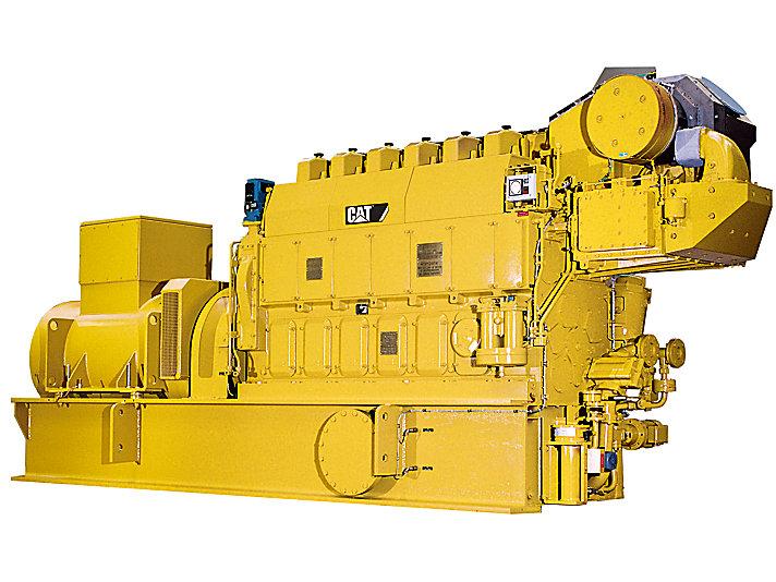 Grupo Electrógeno de Alta Mar 6CM20C