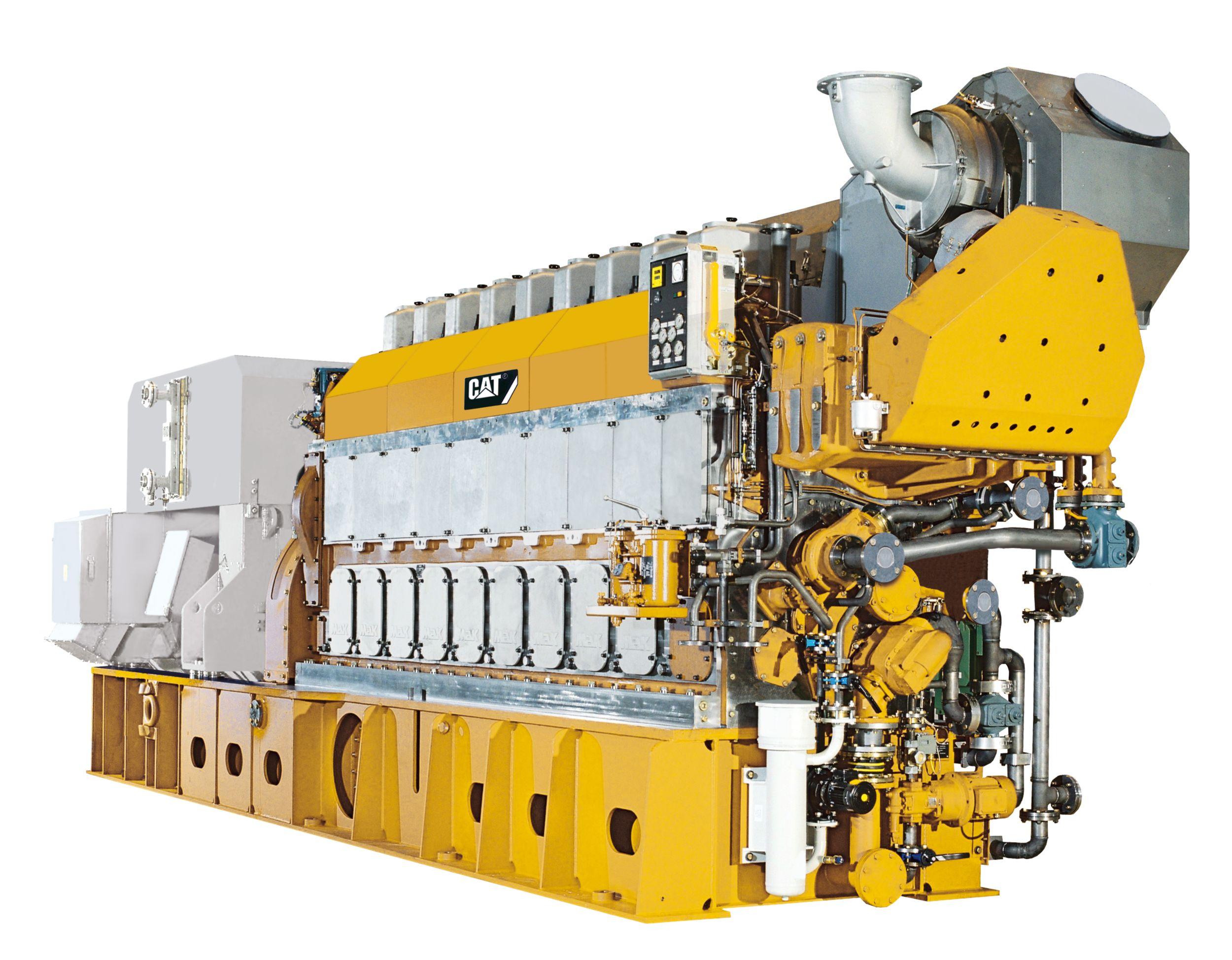 8CM32C Offshore Generator Set
