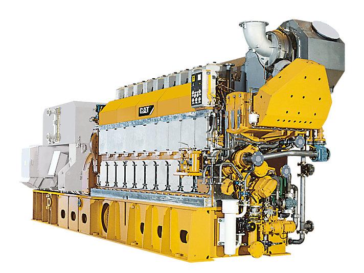 8CM32C海上発電装置