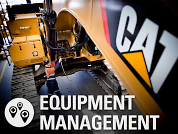 Equipment Management Solutions Image with Icon