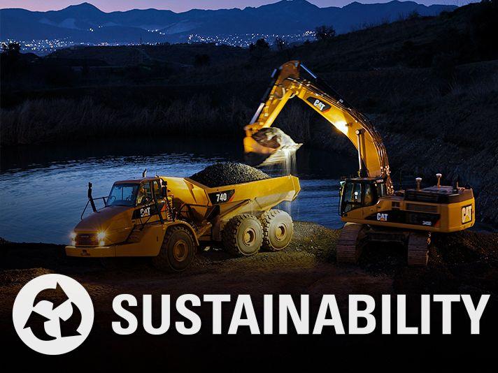صورة Sustainability مع رمزها
