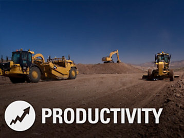 Cat® Connect Productivity Image with Icon