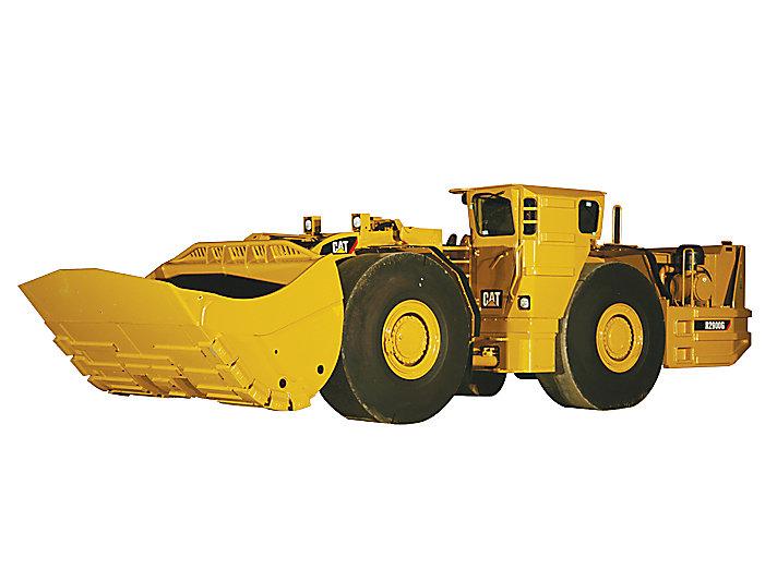 Carregadeira de Mineração Subterrânea LHD (Load-Haul-Dump, Carrega, Transporta, Despeja) R2900G
