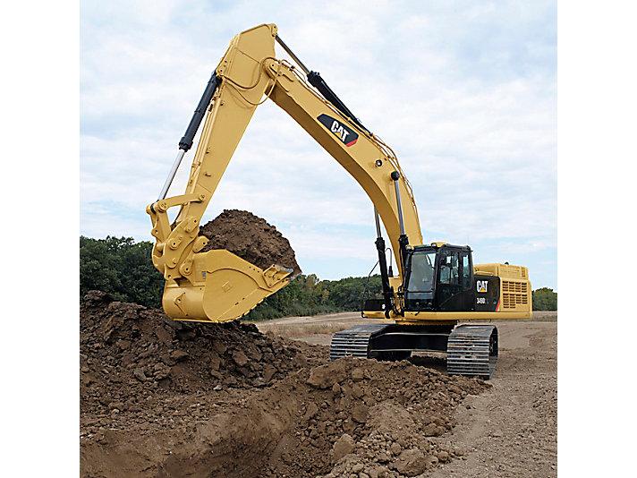 349D2 L 大型液压挖掘机
