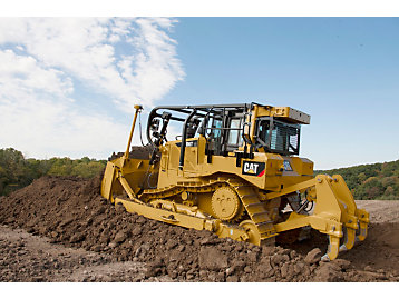 New D6T Pushes Like a Dozer With Ease of Driving a Pickup