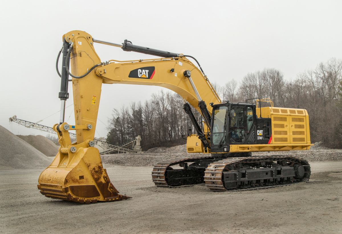 Heavy Equipment Frames : New f l hydraulic excavator for sale whayne cat