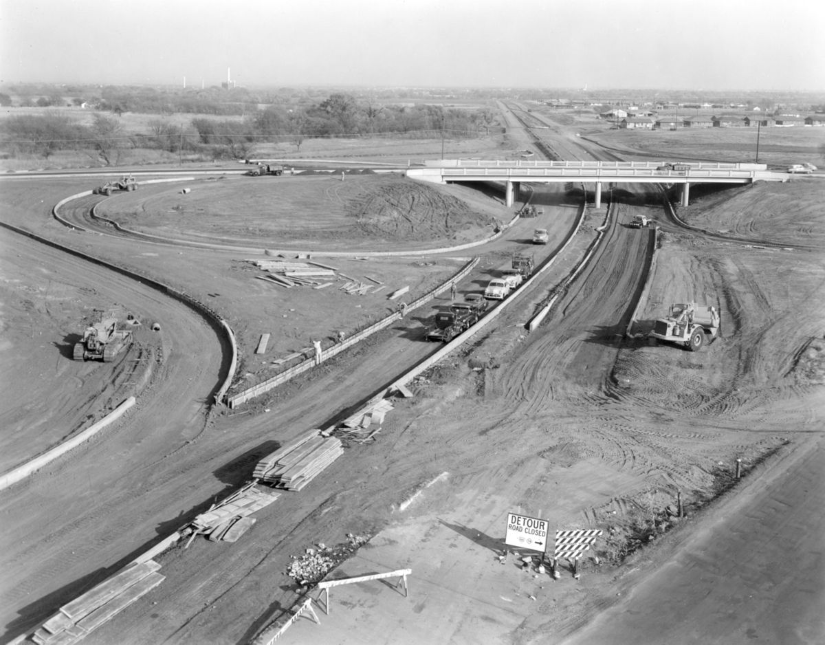 Interstate highway construction 1959 AR