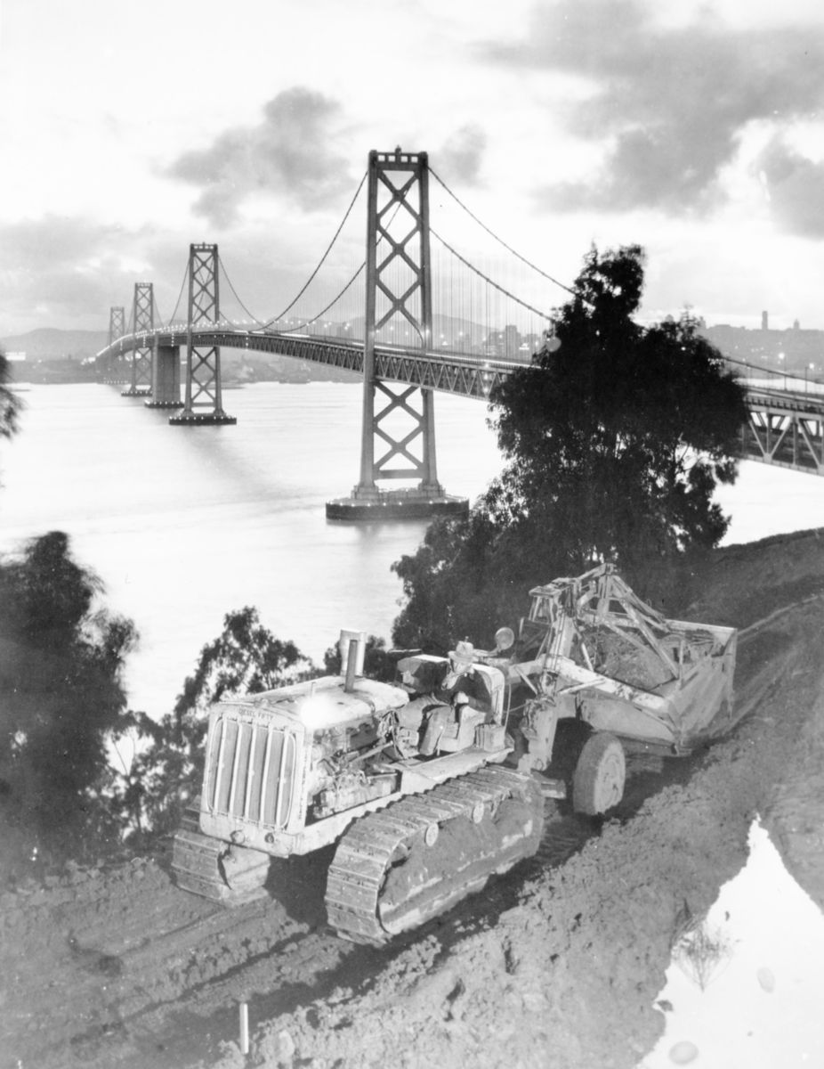 1938 San Francisco bridge ramps