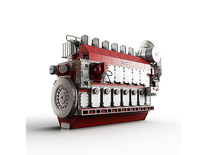 M 46 DF Propulsion Engine