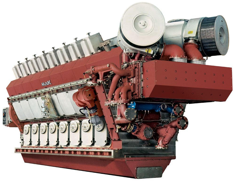 VM 32 C Propulsion Engine